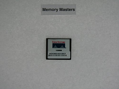 FOR 3800 SERIES APPROVED RAM Memory Upgrade ( MEM3800-64U128CF ) (Cisco 128 Mb Memory)