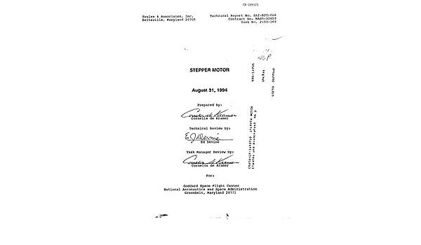 Stepper motor (English Edition) eBook: National Aeronautics and ...