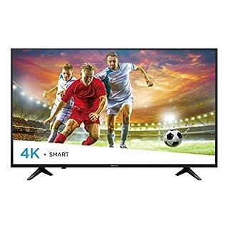 Hisense 43-Inch 4K Ultra HD Smart LED TV 43H6080E (2018), Black
