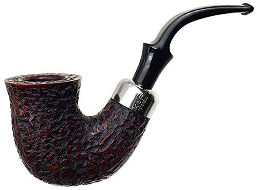 Peterson Standard System Rustic XL315 Tobacco Smoking Pipe P-Lip Stem - 3001K ()