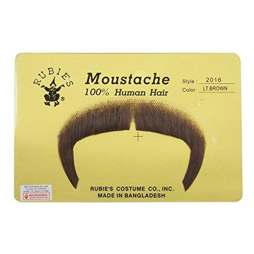 Mustache Costumes (ZAPATA MUSTACHE, LIGHT BROWN)