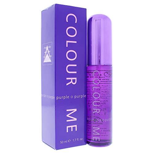 Colour Me | Purple | Parfum de Toilette | Perfume Spray | Womens Fragrance | Chypre Fruity Scent | 1.7 oz (Best Price Perfume Uk)