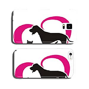 symbol rabbit, cat and dog cell phone cover case iPhone6 Plus