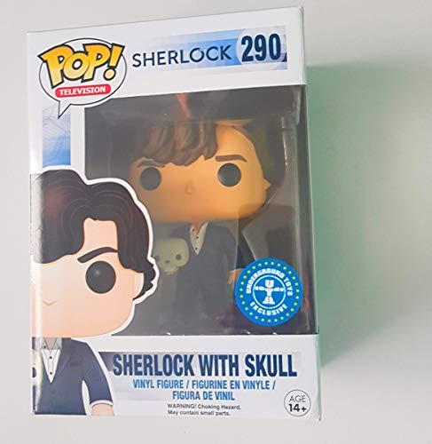 Funko - Figurine Sherlock - Sherlock avec Crane Exclu Pop 10cm - 0849803061784