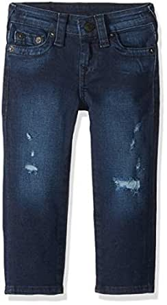 True Religion Boys' Big Jean, Geno SE Stonewall wash, 10