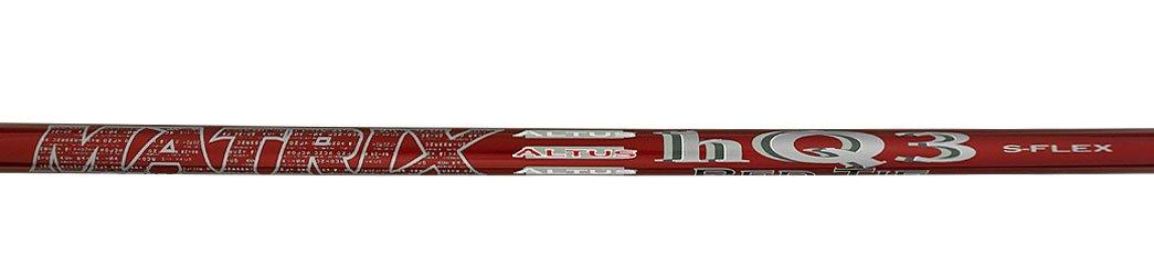 matrix- OZIK赤ネクタイhq3ハイブリッドシャフト B01BZIDZY8 Extra Stiff Flex - .370