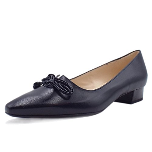 Courts Lizzy Heel Peter Pointed in Kaiser Navy Low Toe Navy BwwYqS