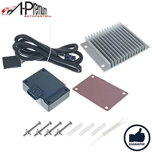 A-Premium Fuel Pump Injector Driver Module W/Relocation Kit Set For Chevrolet GMC C1500 C2500 C3500 K1500 K2500 K3500 Workhorse P32 P42 V8 6.5L Diesel 12562836 19209057