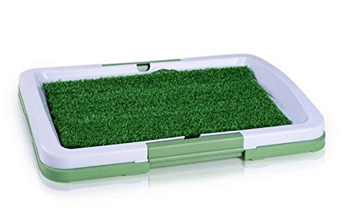 Besplore Dog Potty Grass,Grass Training Pads for Dog,Potty Patch for Doggie,Green