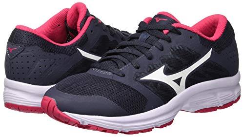 Sneakers WOS Lx Ezrun Shoe Azalea Damen 001 Mizuno White Ombreblue Mehrfarbig fqUIXC