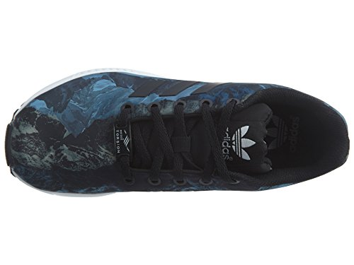Flux ZX Noir Synthétique adidas Baskets Blanc qxp0BxA5nO