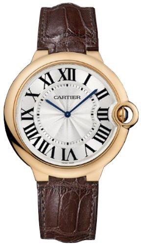 - Cartier Ballon Bleu Extra Large 46mm Men's Manual Wind 18K Rose Gold Watch - W6920054