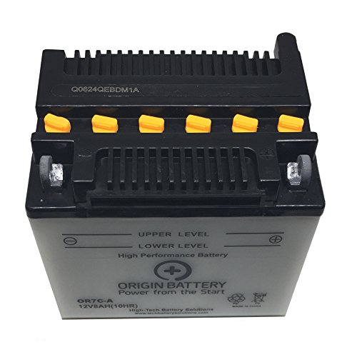 Origin OR7C-A Battery, Replaces YB7C-A, XT7C-A, and UB7C-A Models (Riva Yamaha)