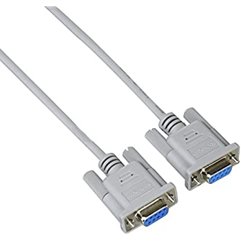 StarTech 6-Feet Straight Through Serial Cable - DB9 F/F (MXT100FF)