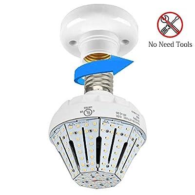 LED Garage Lights 40W Garage Ceiling LED Lights,LED Garage Lighting Deformable Light 6300LM LED Light Bulbs Shop Light for Garage Working Light 5000K