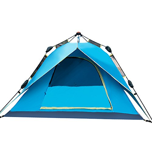 ZL-dnzxw Campingzelt, Portable Folding Wasserdicht Outdoor Zelt Durable Strand Zelt 1-3 Personen