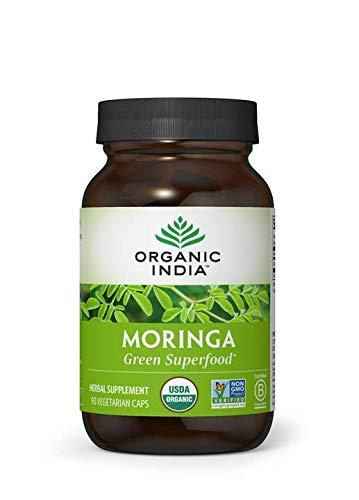 Organic India Moringa Supplement