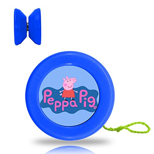 Peppa Pig Logo Professional Responsive Yoyo Smooth Spin Long Time Blue Color - Little Boy Blue Nursery Rhyme Costume