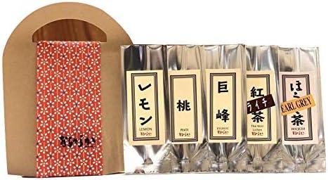 [スポンサー プロダクト]おちゃらか フレーバー日本茶5種set 1個