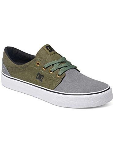 DC Shoes Trase TX - Zapatillas para hombre gris/negro/verde