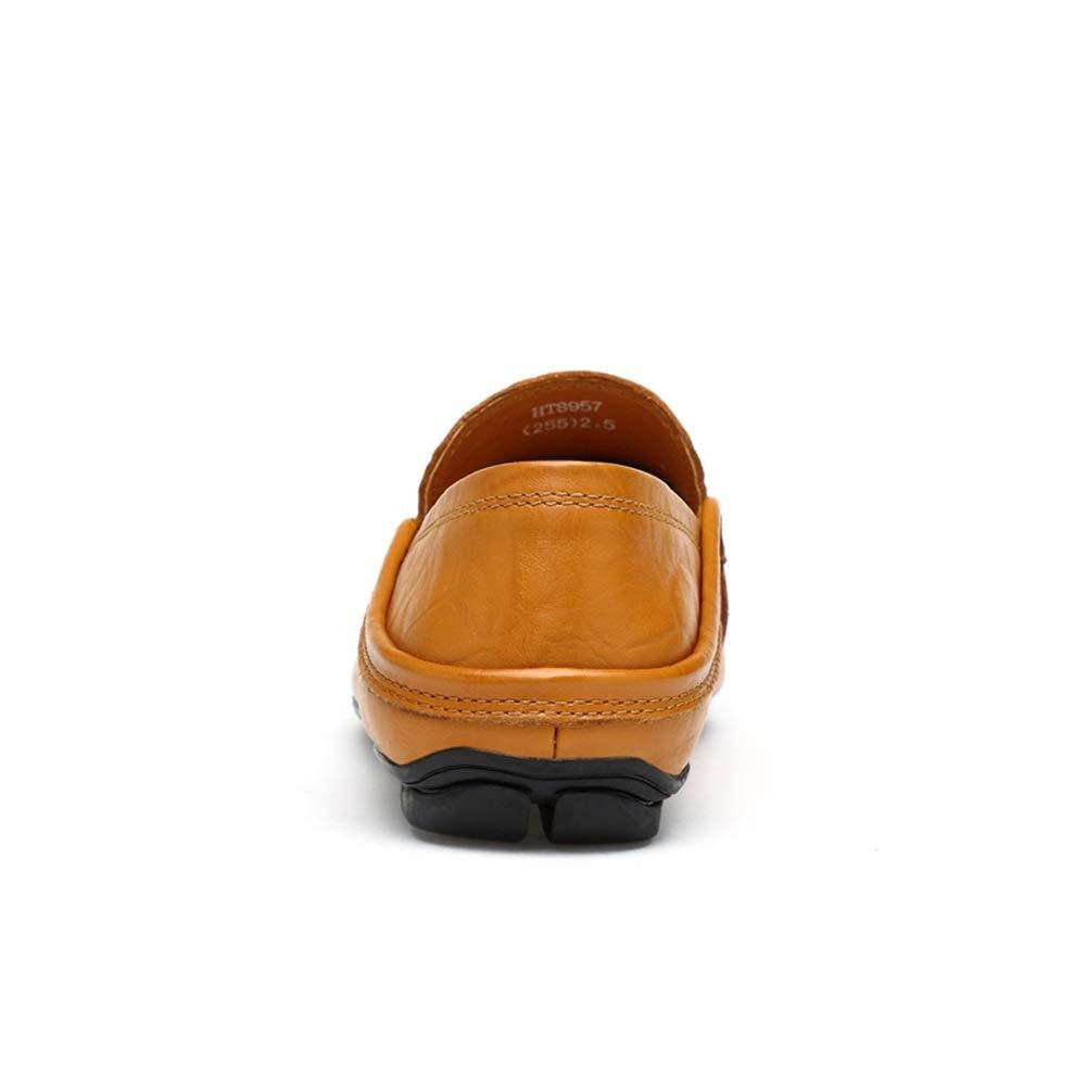 HYF Männer Oxford Schuhe Mode Mode Mode Fahren Müßiggänger Lässige Low-Top Slip On Einfarbig Stiefel Mokassins Lederschuhe Schuhe für Männer  2a2c9e