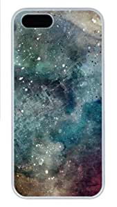 Apple iPhone 5S Case,iPhone 5S Cases - Abstract space PC Custom iPhone 5S Case Cover for iPhone 5S - White