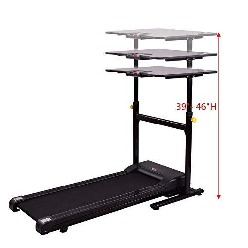 Gymax Walking Running Exercise Treadmill W Height