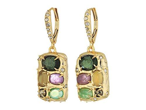 Alexis Bittar Women's Small Drop Clutch Earrings 10k Gold One Size
