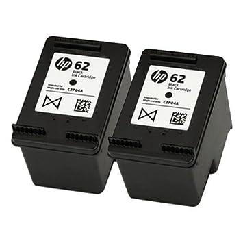 HP C2P04AE - 62 cartucho de tinta negra: Amazon.es: Electrónica