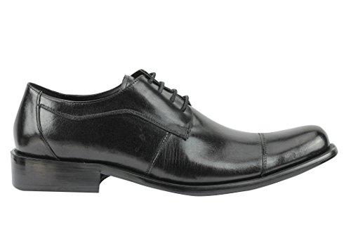 Xposed Zapatos Planos con Cordones Hombre, Color Marrón, Talla 43 EU