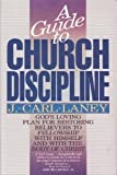 img - for A Guide to Church Discipline book / textbook / text book