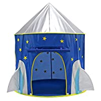HMANE Foldable Tent Space Capsule Tent Indoor Play Outdoor Game Camping Waterproof Teepee for Children