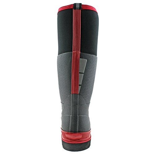 BLACK WELLIES FW9902 11 RED NEOPRENE EU LANDMASTER UK PRO BOOTS REFLECTIVE 45 Dickies SAFETY q8StKBCFw