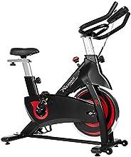 Reehut Indoor Cycling Bike - Exercise Bike Stationary Cycle Bike with 31 lbs Flywheel, Triangle Frame, Big Sea