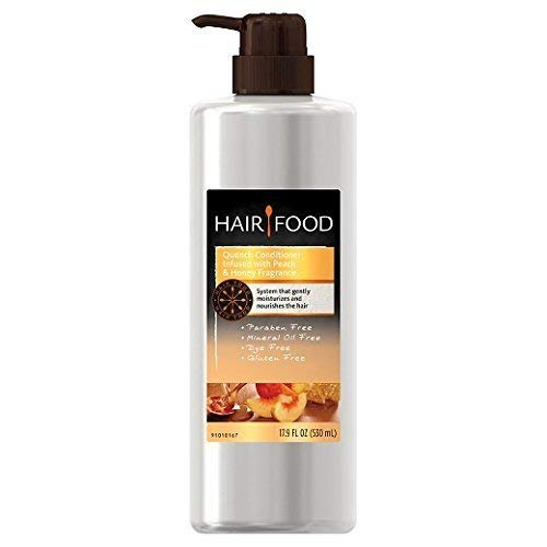 Hair Food Gluten Free Quench Peach and Honey Conditioner 17.9oz