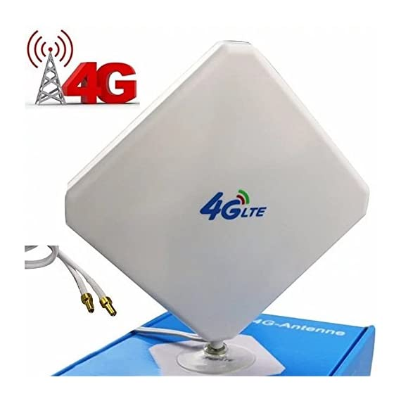 Consommables et accessoires SMA 4G LTE Antenna Dual MIMO 35dBi High