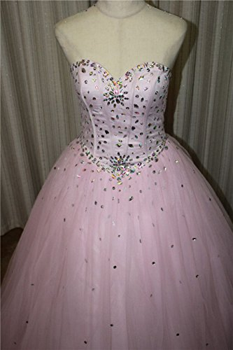 Dresses Sweetheart Beilite Crystal Sequins Style1 Gown Quinceanera with green Women's Long Prom qggIwA