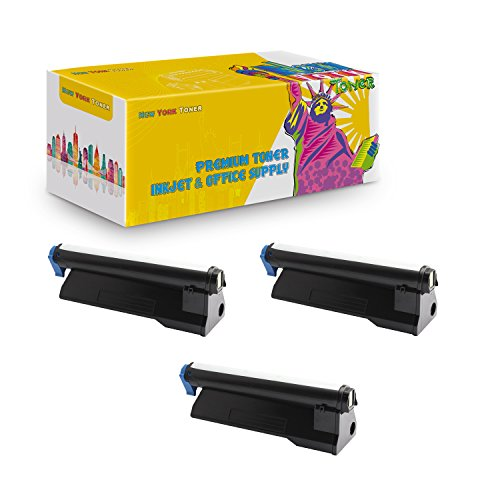 Price comparison product image New York TonerTM New Compatible 3 Pack 43979215 High Yield Toner for Oki-Okidata : B420 / B420DN / MB480 / MB480 MFP. --Black