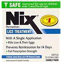 Nix Lice Treatment Cream Rinse 2 oz. (2-Pack)