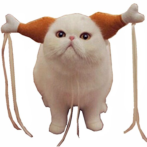 Turkey Chicken Drumstick Headband Dog Chicken Leg Hoop party Funny Props Cat Headdress Lovely Accessories Costumes -