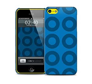 washer blue iPhone 5c protective phone case