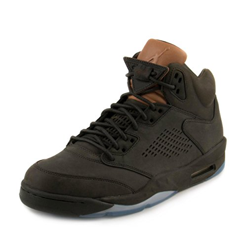 Nike Mens Air Jordan 5 Retro Prem Take Flight Sequoia/Gold Leather Size 14