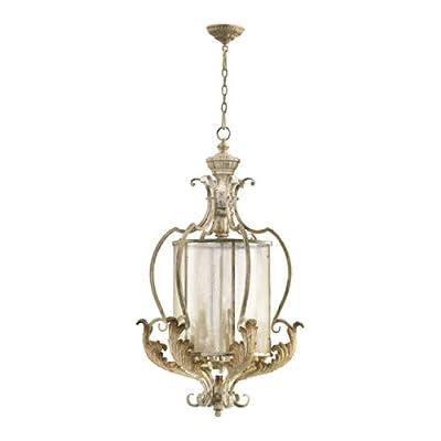 Quorum 6837-9-70 - Large Foyer Pendant - 9 Light - Persian White Finish - Florence Collection