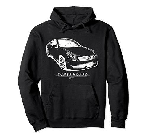 (G35 JDM Drift Car T-shirt Fast 350GT Track & Street Race 350 Pullover Hoodie)