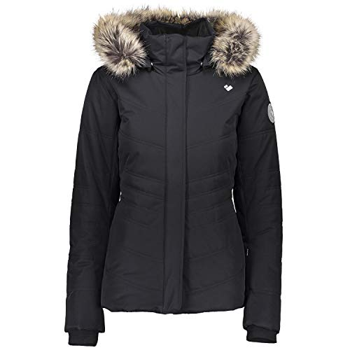 Obermeyer Tuscany II Insulated Womens Ski Jacket Black