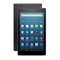 "Fire HD 8 Tablet with Alexa, 8"" HD Display, 32 GB, Black - with Special Offers (Previous Generation - 6th)"