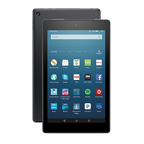 "Price comparison product image Fire HD 8 Tablet with Alexa, 8"" HD Display, 16 GB, Black - with Special Offers"