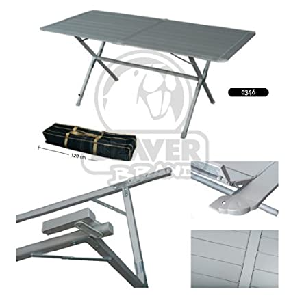 Alu table de camping table Eureka 160x80cm