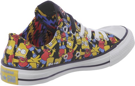 Converse Chuck Taylor All Star High Simpsons Sneaker 6.5 US - 39.5 EU
