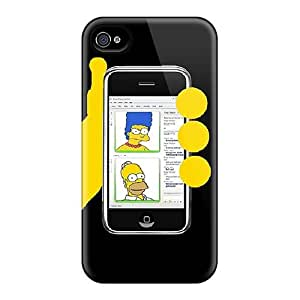 Phone Case Slim Fit Tpu Protector Shock Absorbent Bumper Case For Iphone 4/4s